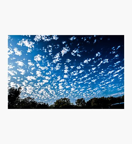 Magnificent Sky and Clouds No 3 Photographic Print