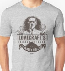 Lovecraft's Canned Octopus Unisex T-Shirt