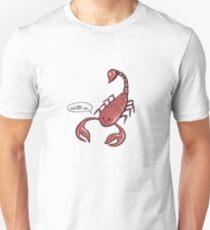 The Friendly Scorpion Unisex T-Shirt