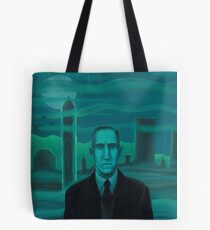 HP Lovecraft the explorer Tote Bag