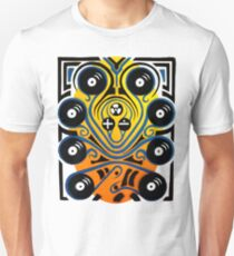 DJ Octopus in blue T-Shirt