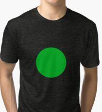 Circle Green Tri-blend T-Shirt