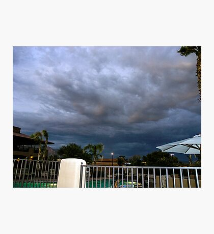 Storm is brewing in Tucson Photographic Print