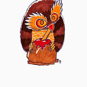 The Clueless Owl... HOOO HOOO HOOOOOOOO by eggokc