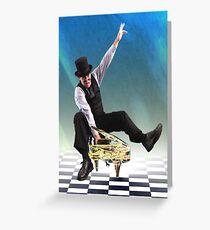 Boogie Woogie Greeting Card