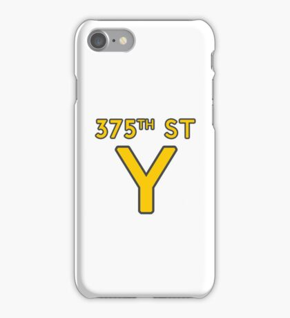 375th Street Y - Royal Tenenbaums Tshirt iPhone Case/Skin