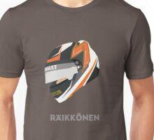 Kimi Räikkönen Helmet Design 2013 Season Unisex T-Shirt
