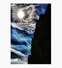Ice Fire In The City Photographic Print