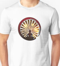 Enso Zen Circle, Meditation, Buddha, Buddhism, Japan, Sun T-Shirt