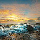 Portencross Frothy Sundown by George Crawford