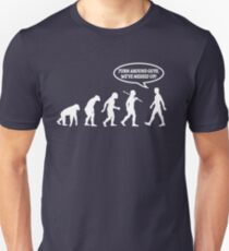 Evolution of Man Messed Up T-Shirt