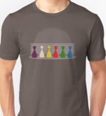 Cluedo Usual Suspects Unisex T-Shirt