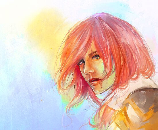 Lightning by Charlotte Gilbert
