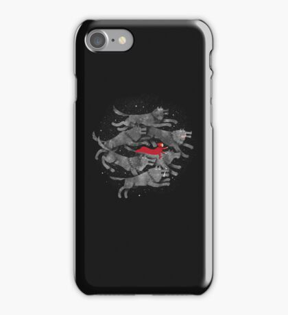 Run with the pack iPhone Case/Skin
