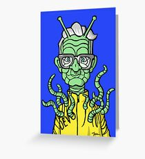 Space Mutant Greeting Card