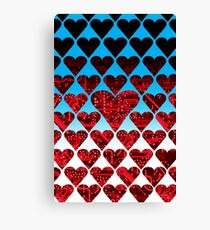 love circuit, red Canvas Print