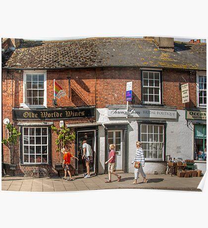Ye Olde Worlde Wine Shoppe: Rye. Poster