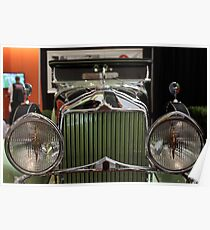 1930 Willys-Knight Great Six Plaid-Side Roadster - 5D19804 Poster