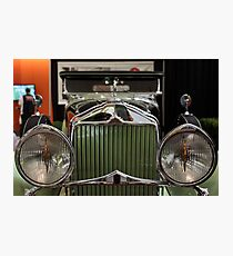 1930 Willys-Knight Great Six Plaid-Side Roadster - 5D19804 Photographic Print