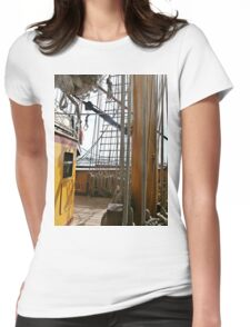 Melbourne International  Festival TALL SHIP Womens Fitted T-Shirt