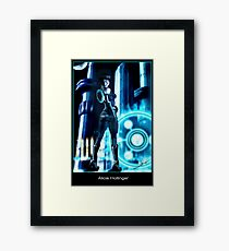 Lost in a Video Game Framed Print