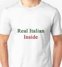 Real Italian Inside Unisex T-Shirt