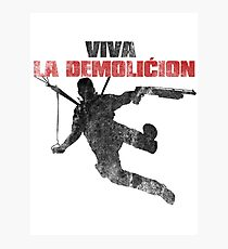 Just Cause - Viva la demolicion Photographic Print