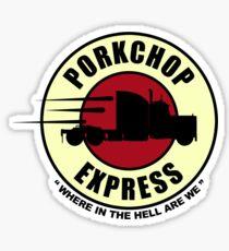 Planet Porkchop Express Sticker