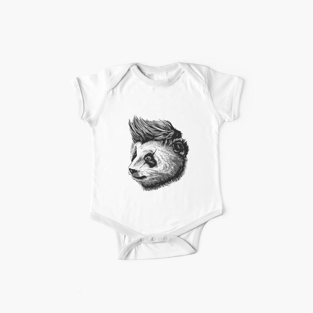 flippiger Panda Baby Body