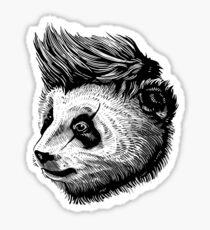 funky panda Sticker
