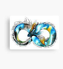 Infinity Dragon Canvas Print