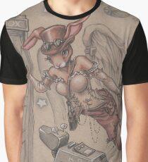 ComicCon Winged Merbunny Graphic T-Shirt