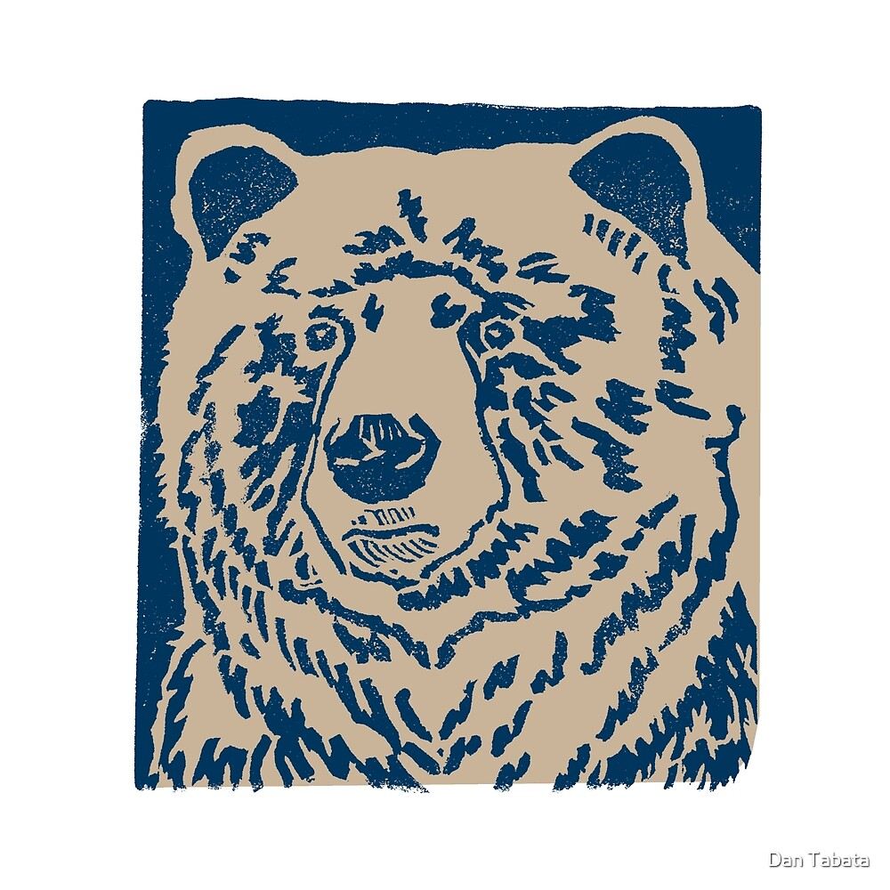 Blue Bear by Dan Tabata