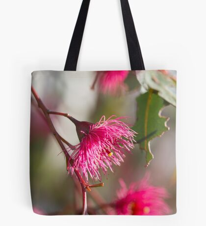 Afternoon Glow - Gum Blossom Tote Bag