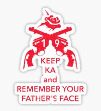 Keep KA - red edition Sticker