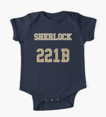 Sherlock 221B Jersey One Piece - Short Sleeve