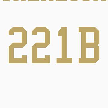 Sherlock 221B Jersey by sher00