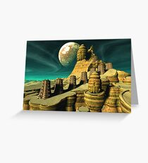 The Plateau of Leng Greeting Card