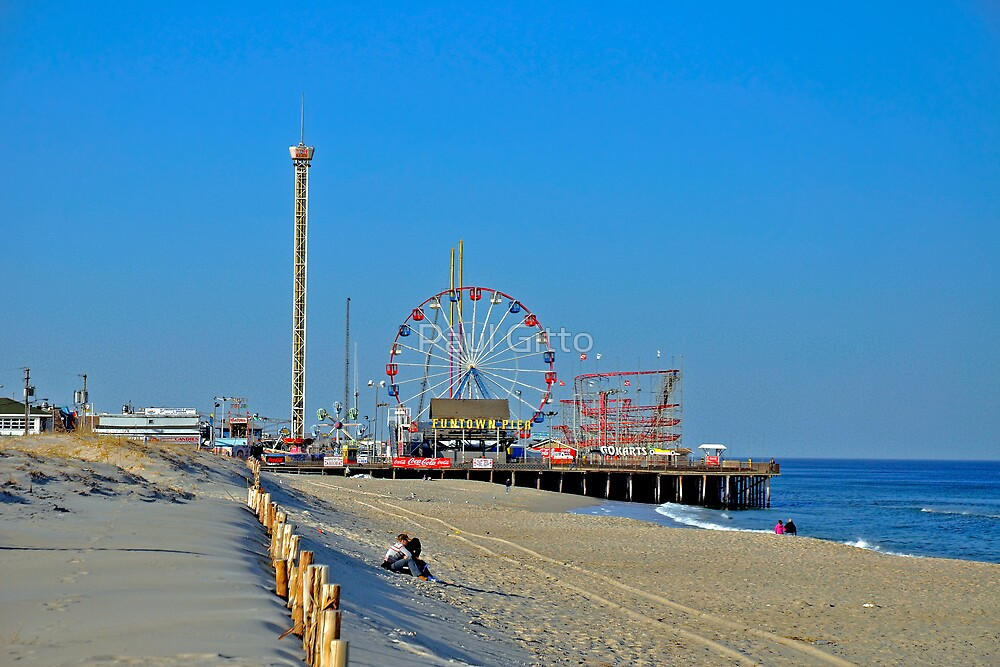 Quot Summer Fun Funtown Pier Seaside Heights Nj Quot By Paul