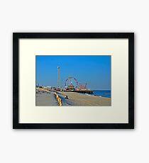 Summer Fun - Funtown Pier Seaside Heights NJ Framed Print
