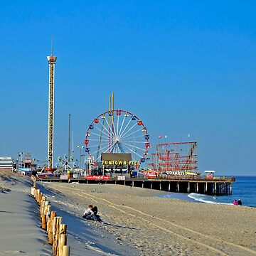 Summer Fun - Funtown Pier Seaside Heights NJ by cometman