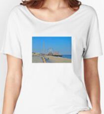 Summer Fun - Funtown Pier Seaside Heights NJ Women's Relaxed Fit T-Shirt