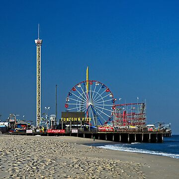 Funtown Pier - As It Was by cometman