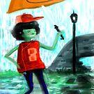 Enjoying The Rain. by Mark Padua
