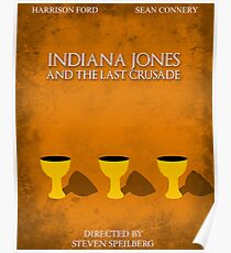 Indiana Jones - Last Crusade Minimal Poster