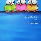 Three Little Birds by StressieCat