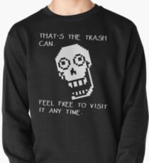 Undertale - Papyrus SHIRT - Trash Can Pullover