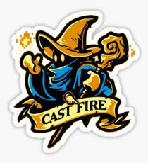 Cast Fire! Sticker