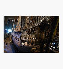 The Vasa Military Ship Stockholm Fotodruck