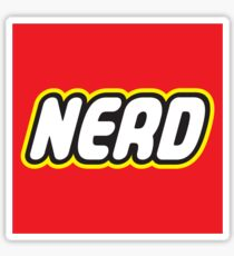 Playful Nerd  Sticker